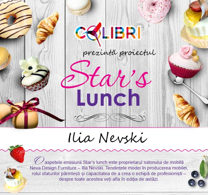 Star's lunch: Ilia Nevski