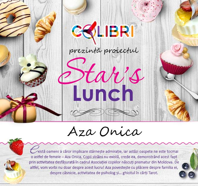 Stars's lunch: Aza Onica