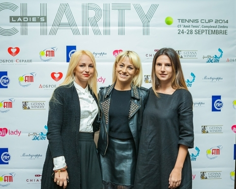 Seara de binefacere Ladies Charity Tennis Cup 2014