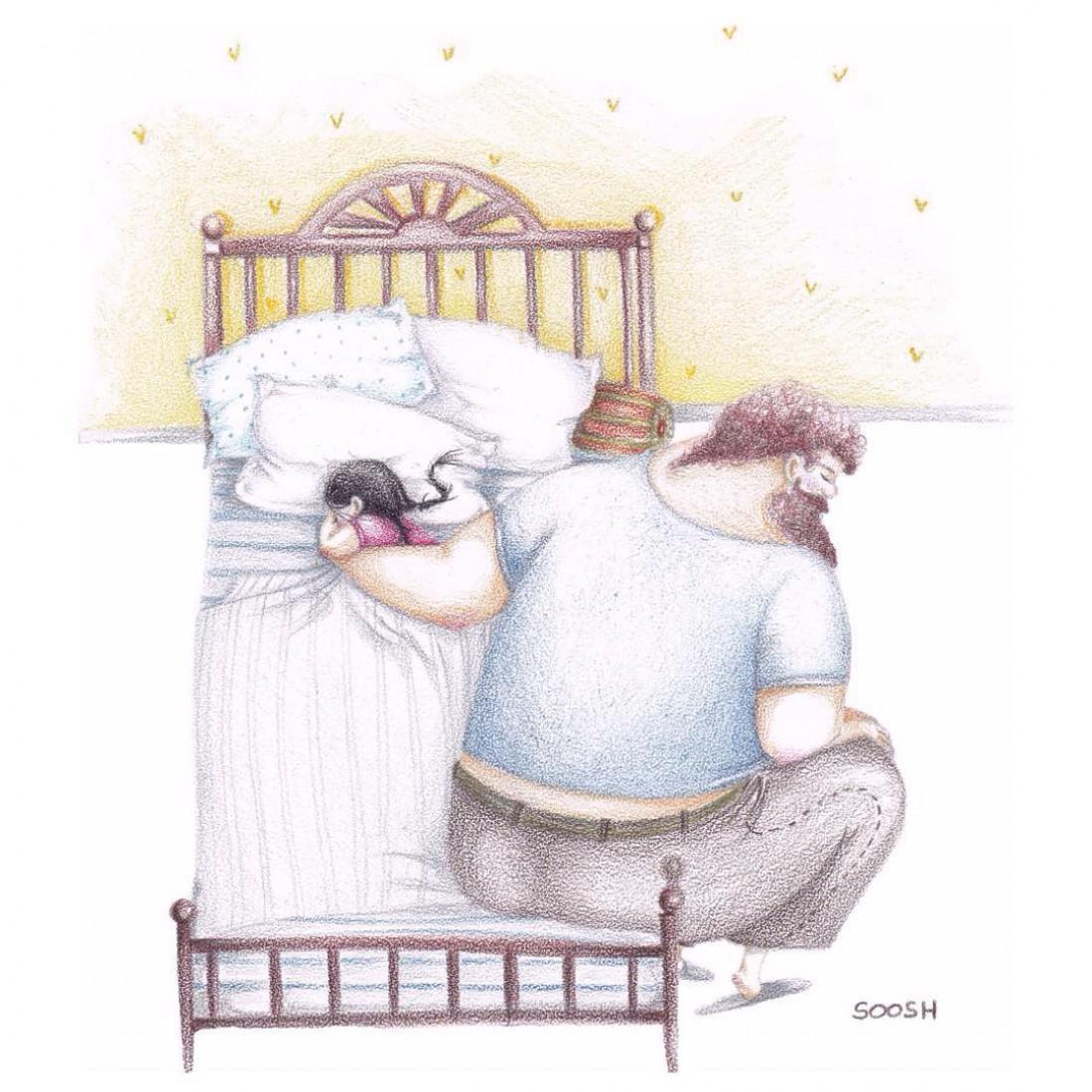 Мама и дочка смешные картинки нарисованные, картинки для молодых