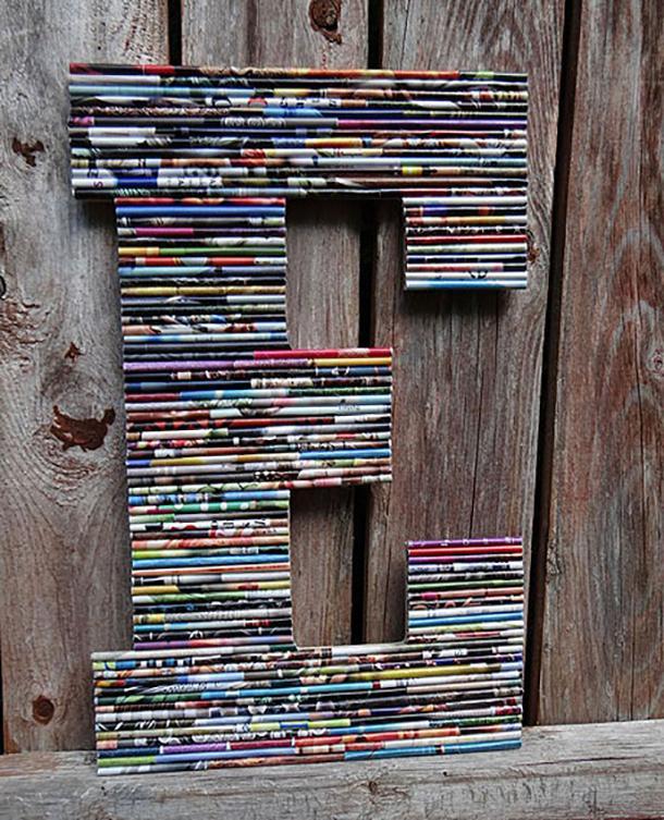 Открытка из журналов своими руками, есть программы