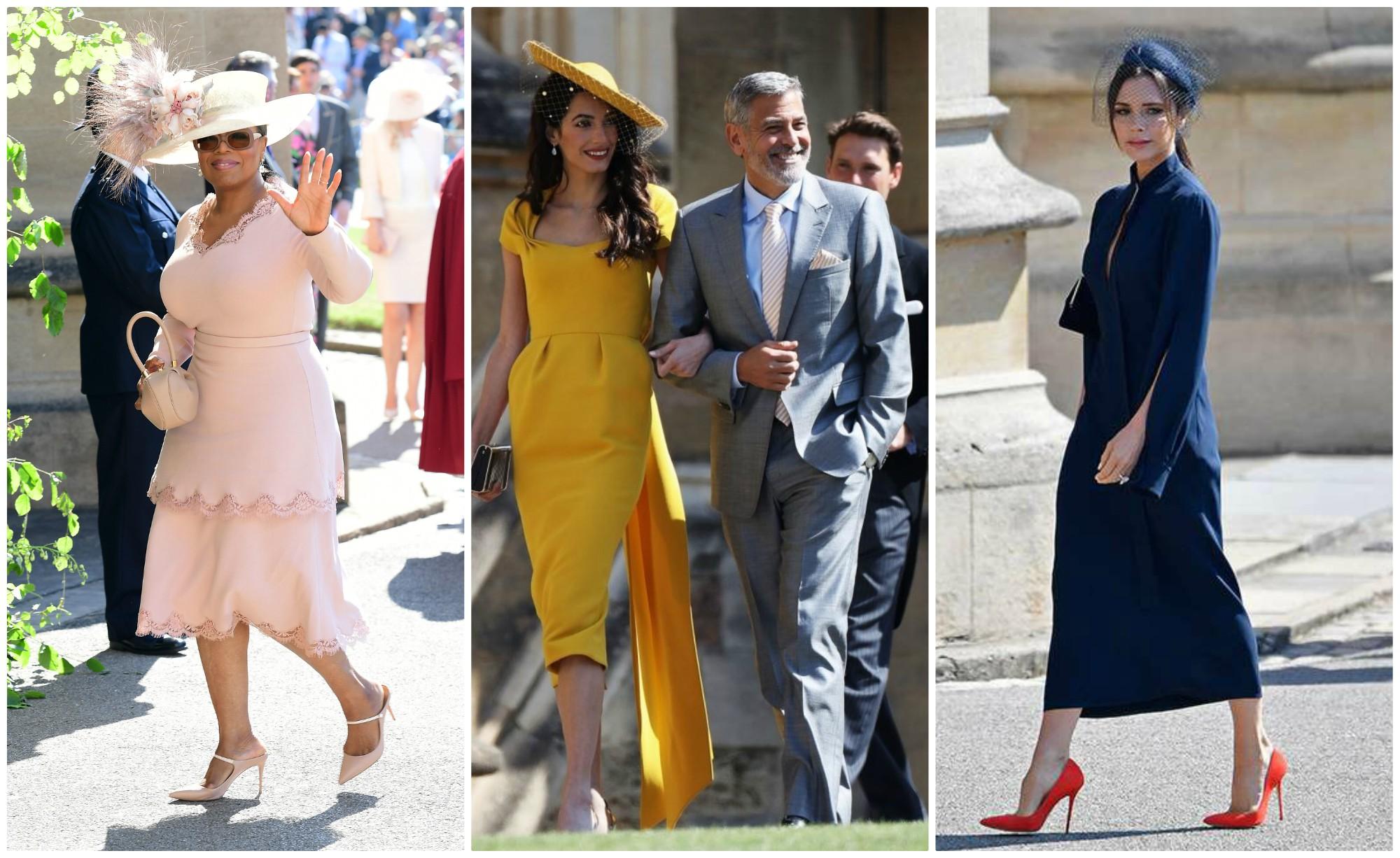 Ce ținute Au Purtat Vedetele La Nunta Prințului Harry și A Lui