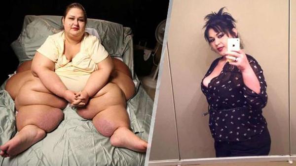 Самая толстая женщина которая похудела