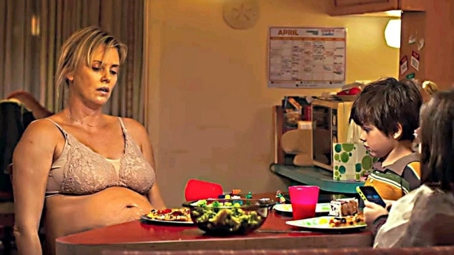 slăbind în jos când este însărcinată)